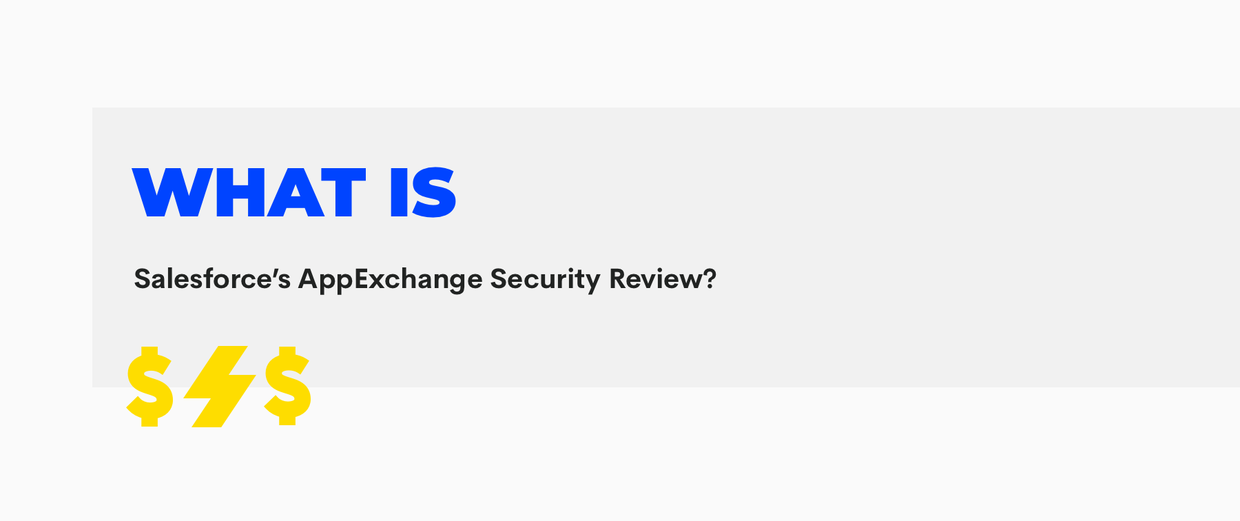 salesforce appexchange security review
