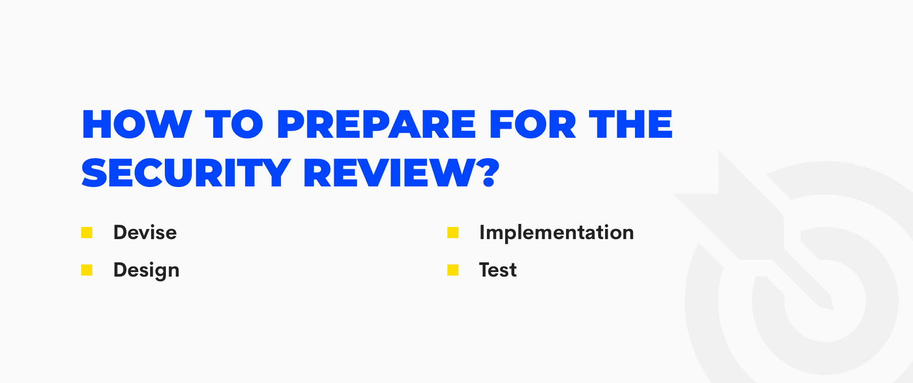 how to prepare for salesforce security review